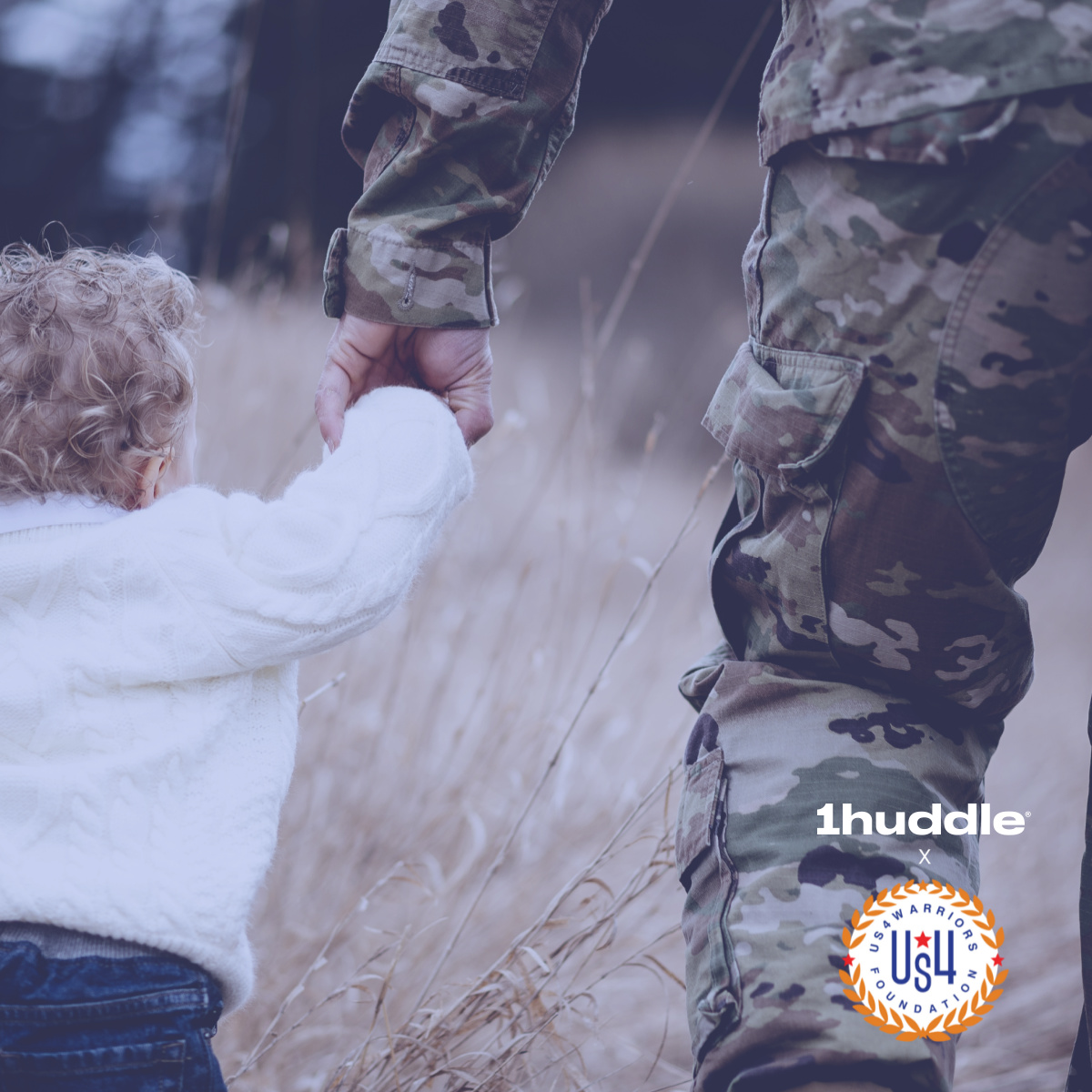1Huddle Joins Forces with Us4Warriors, Award-Winning, Non-Profit Foundation